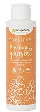 """Parfumuri și produse cosmetice Balsam de păr """"Moringa și floarea soarelui"""" - La Saponaria Bio Balsamo Moringa & Girasole"""