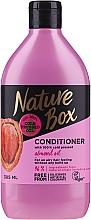 Parfumuri și produse cosmetice Balsam cu ulei de migdale pentru păr - Nature Box Almond Oil Conditioner