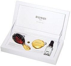 Parfumuri și produse cosmetice Set pentru îngrijirea părului  - Balmain Paris Hair Couture (silk parfume/50ml + mirror + h/brush)