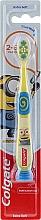 Духи, Парфюмерия, косметика Детская зубная щетка, 2-6 лет, желто-синяя, миньоны - Colgate Smiles Kids Extra Soft