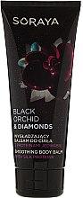 Parfumuri și produse cosmetice Balsam cu proteine pentru corp - Soraya Black Orchid & Diamonds Smoothing Body Balm