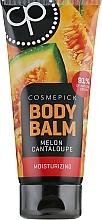 Parfumuri și produse cosmetice Balsam hidratant cu aromă de pepene galben pentru corp - Cosmepick Body Balm Melon Cantaloupe