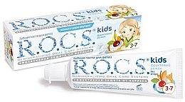 """Parfumuri și produse cosmetice Pastă de dinți """"Con de fructe"""" - R.O.C.S. Kids"""