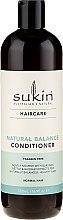 Parfumuri și produse cosmetice Balsam de păr - Sukin Natural Balance Conditioner