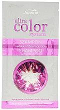 Parfumuri și produse cosmetice Șampon-colorant pentru păr (Mostră) - Joanna Ultra Color System Pink Shade Shampoo (mostră)