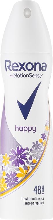 Deodorant spray - Rexona MotionSense Happy Morning Peach & Wild Raspberry