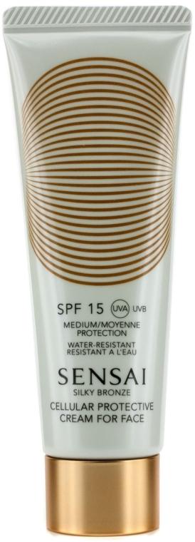 Cremă de protecție solară SPF15 - Kanebo Sensai Cellular Protective Cream For Face — Imagine N1