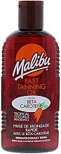 Parfumuri și produse cosmetice Ulei pentru bronz - Malibu Fast Tanning Oil with Carotene