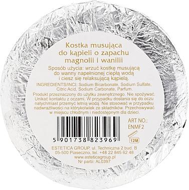 Bombă de baie cu magnolie și vanilie - Nature de Marseille Magnolias&Vanilla — Imagine N2
