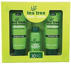 Parfumuri și produse cosmetice Set - Xpel Marketing Ltd Tea Tree Invigorating (shm/100 ml + cond/100 ml + ser/30 ml)