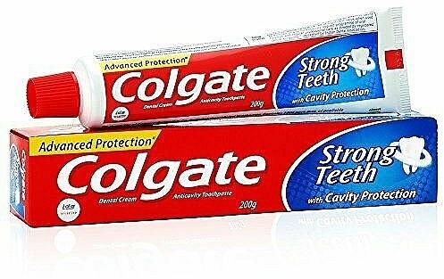 "Pasta de dinți ""Strong Teeth"" - Colgate Strong Teeth Toothpaste"