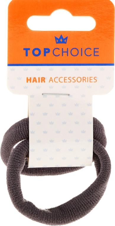 Elastice de păr, 22838, gri - Top Choice