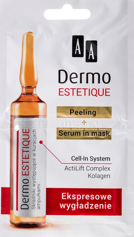 Set de fiole - AA Cosmetics Dermo Estetique (peeling/5ml + ser/5ml) — Imagine N1