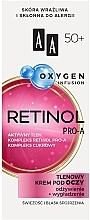 Parfumuri și produse cosmetice Cremă cu oxigen pentru pleoape, 50+ - AA Oxygen Infusion Retinol Pro-A Eye Cream