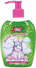 """Parfumuri și produse cosmetice Gel de duș pentru copii """"Unicorn"""", punch de struguri - Chlapu Chlap Bath & Shower Gel"""