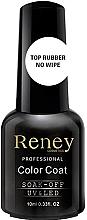 Parfumuri și produse cosmetice Fixator pentru lac-gel - Reney Cosmetics Top Rubber No Wipe