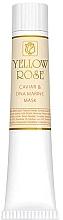 Parfumuri și produse cosmetice Maska do twarzy z ekstraktem z kawioru (tubka) - Yellow Rose Caviar & Marine DNA Face Mask