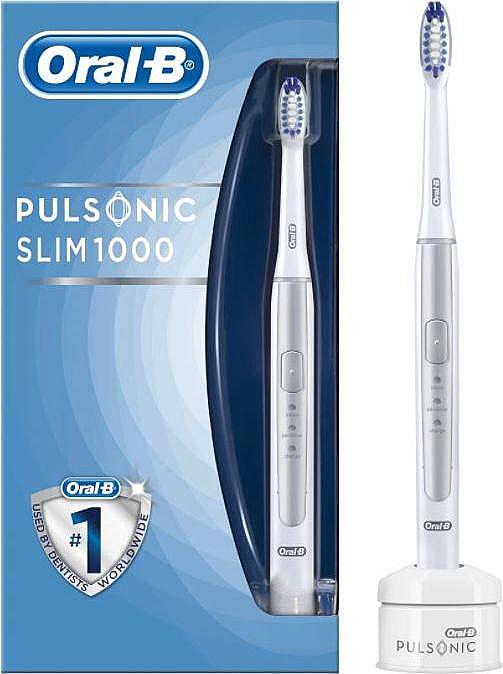 Periuță electrică de dinți - Oral-B Pulsonic SLIM 1000 Silver — Imagine N1