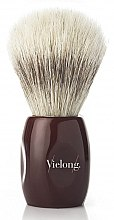 Parfumuri și produse cosmetice Pămătuf de ras, 13723 - Vie-Long Shaving Brush Barbershop Horse Hair