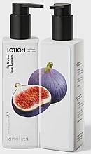 """Parfumuri și produse cosmetice Loțiune nutritivă pentru mâini și corp """"Smochine și Viola"""" - Kinetics Fig & Violet Lotion"""