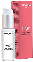 Parfumuri și produse cosmetice Ser pentru ochi și buze - Collagena Code Express Lift Eye And Lip