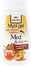 Parfumuri și produse cosmetice Gel pentru igienă intimă - Bione Cosmetics Honey + Q10 Propolis Intimate Wash Gel