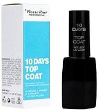 """Parfumuri și produse cosmetice Fixator pentru unghii """"10 Days"""" - Pierre Rene Top Coat"""