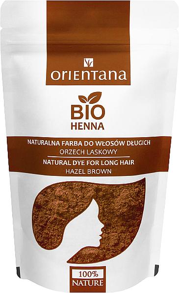 Растительная краска для длинных волос - Orientana Bio Henna Natural For Long Hair — фото N4