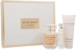 Parfumuri și produse cosmetice Elie Saab Le Parfum - Set (edp/90ml + b/lot/75ml + edp/10ml)