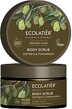 """Parfumuri și produse cosmetice Scrub pentru corp """"Moliciune și tandrețe"""" - Ecolatier Organic Oliva Body Scrub"""