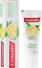 """Parfumuri și produse cosmetice Pastă de dinți """"Prospețime impecabilă"""" - Colgate Natural Extracts Ultimate Fresh Lemon"""