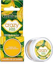 "Духи, Парфюмерия, косметика Масло для губ ""Банан"" - Bielenda Crazy Kiss Banana Lip Butter"