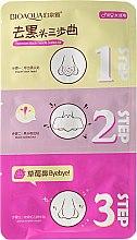 Parfumuri și produse cosmetice Masca în 3 etape pentru îndepărtarea punctelor negre - Bioaqua Remove Black Heads 3-step Kit