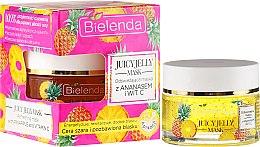 Parfumuri și produse cosmetice Mască de față cu ananas și vitamina C - Bielenda Juicy Jelly Mask
