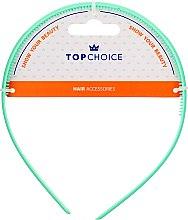 Parfumuri și produse cosmetice Cordeluță de păr 27871, verde mentă - Top Choice