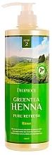 Parfumuri și produse cosmetice Balsam de păr - Deoproce Green Tea Henna Pure Refresh Rinse