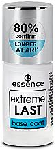 Духи, Парфюмерия, косметика Основа под лак - Essence Extreme Last Base Coat