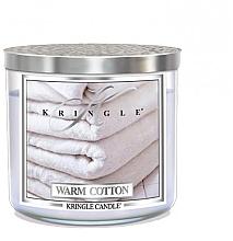Parfumuri și produse cosmetice Lumânare parfumată într-un borcan cu 3 fitile - Kringle Candle Warm Cotton