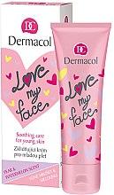 Parfumuri și produse cosmetice Emulsie cu aromă de pară și pepene verde pentru față - Dermacol Love My Face Pear & Watermelon Scent Face Cream