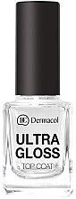 Parfumuri și produse cosmetice Fixator pentru unghii - Dermacol Ultra Gloss Top Coat