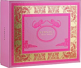 Parfumuri și produse cosmetice Versace Bright Crystal - Set (edt/50ml + b/l/50ml + sh/gel/50ml)