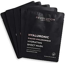 Parfumuri și produse cosmetice Mască hidratantă de față   - Revolution Skincare Hyaluronic Hydrating Acid Sheet Mask
