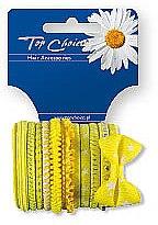 Parfumuri și produse cosmetice Elastice de păr 2 bucăți, 22043 - Top Choice