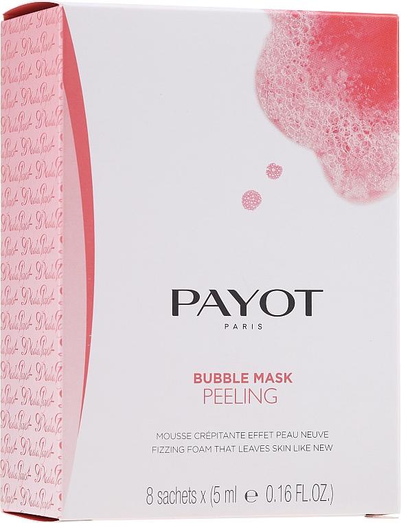 Mască-peeling cu oxigen pentru față - Payot Les Demaquillantes Peeling Oxygenant Depolluant Bubble Mask
