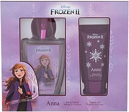 Parfumuri și produse cosmetice Disney Frozen II Anna - Набор (edt/100ml + sh/gel/75ml)