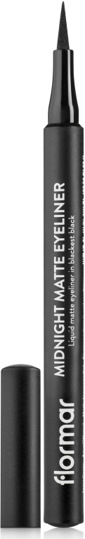 Tuș de ochi - Flormar Midnight Matte Eyeliner — Imagine N1
