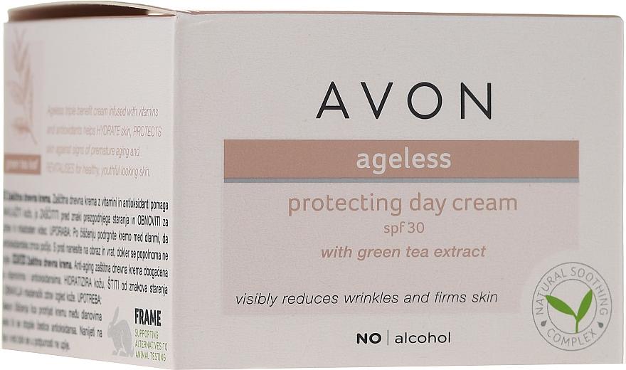 Cremă cu extract de ceai verde de zi pentru față - Avon Ageless Protacting Day Cream SPF 30
