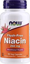 "Parfumuri și produse cosmetice Supliment alimentar ""Niacin (Vitamina B3)"", 250 mg - Now Foods Flush-Free Niacin"