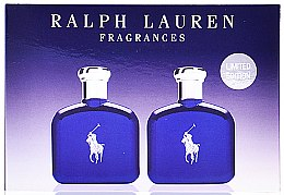 Parfumuri și produse cosmetice Ralph Lauren Polo Blue - Set (edt/40ml + edt/40ml)