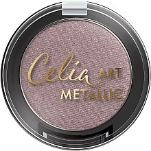 Farduri pentru pleoape - Celia Art Metallic Eye Shadow — Imagine N1